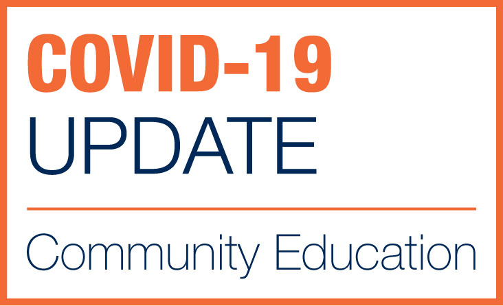 COVID-19 Updates for Community Education