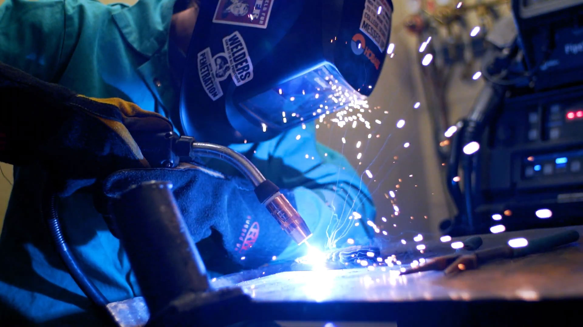Terra State Welding program video