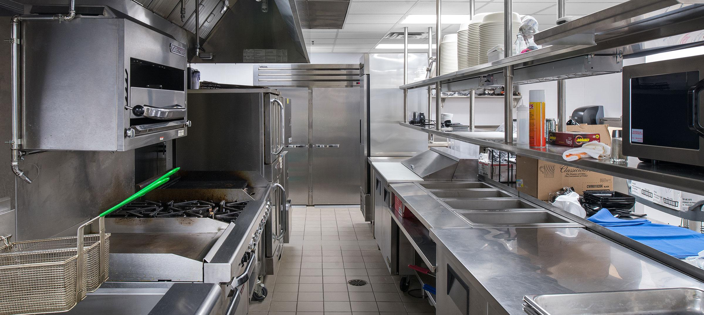 The Neeley Center kitchen
